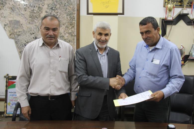 بلدية رفح توقيع مذكرة بدء العمل بتطوير شوارع بتل السلطان