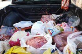 بلدية خانيونس تتلف 1200 كجم حمضيات وتصادر لحوماً فاسدة