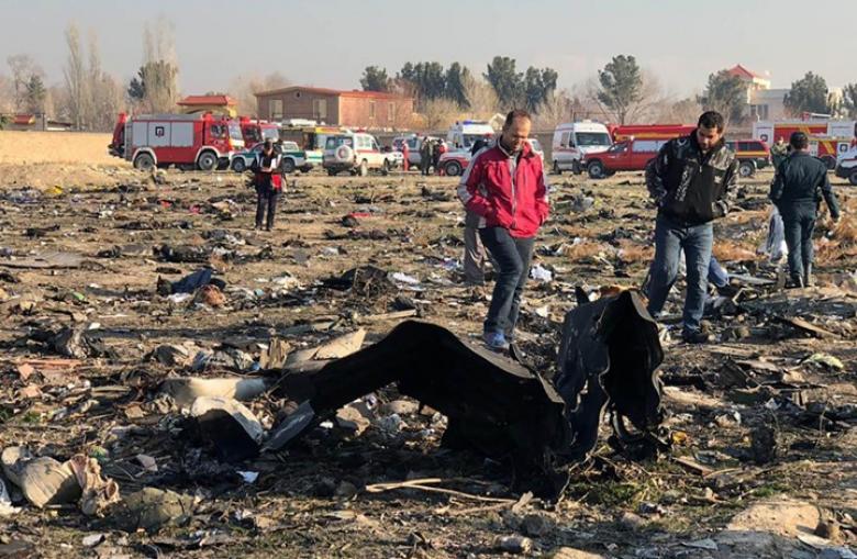 طهران تنفي محاولة التكتم على قضية الطائرة الأوكرانية