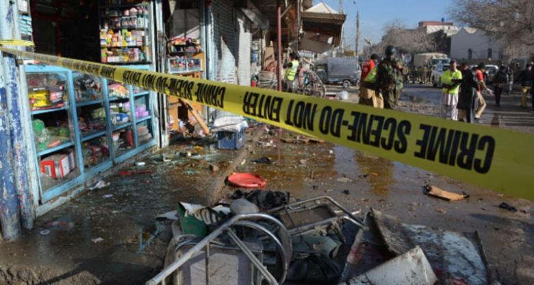 هجوم انتحاري يوقع 5 قتلى في باكستان