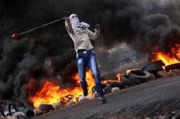 شهيد و10 عمليات وإصابة 5 إسرائيليين و81 مواجهة