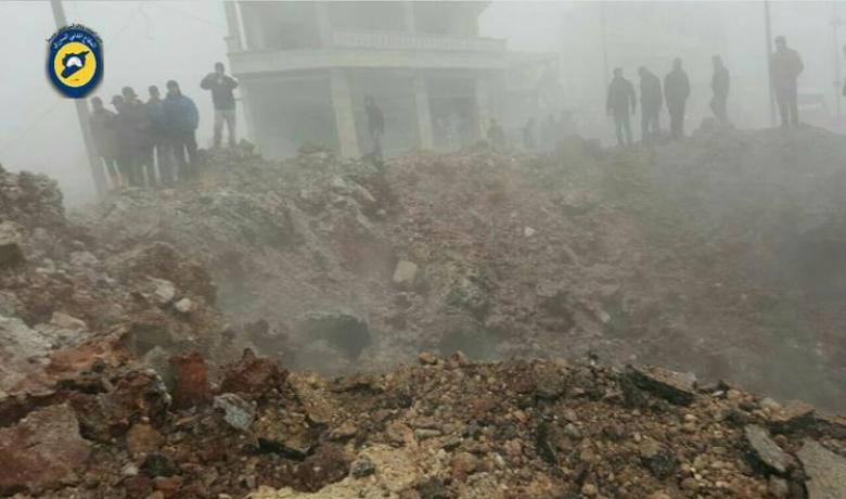غارات بالقنابل الفراغية بحلب في ثالث أيام الهدنة