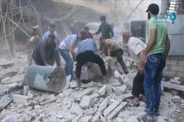 غارات تقتل مدنيين بحلب وحمص وتدمر مستشفى بداريا