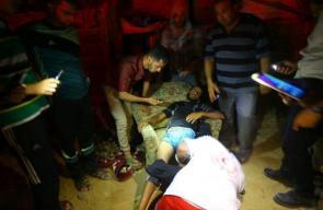 آثار القصف الإسرائيلي الليلة الماضية