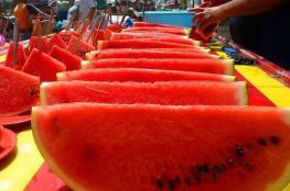 """البطيخ.. 10 فوائد رائعة و""""خطر وحيد"""""""