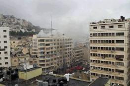 السيطرة على حريق ضخم استمر لـ6 ساعات بنابلس