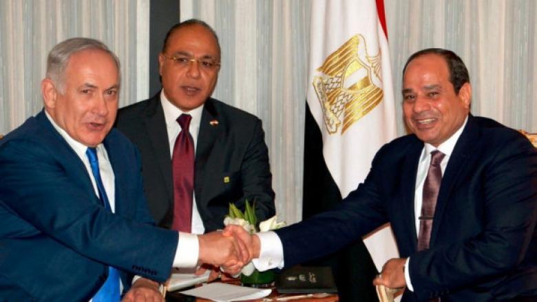"""نتنياهو: التعاون مع مصر يساهم في أمن """"إسرائيل"""""""