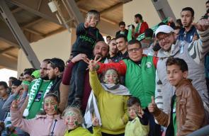 مباراة هلال القدس والوحدات الأردني