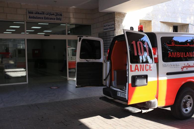 وفاة طفل إثر حادث مروري شمال القطاع