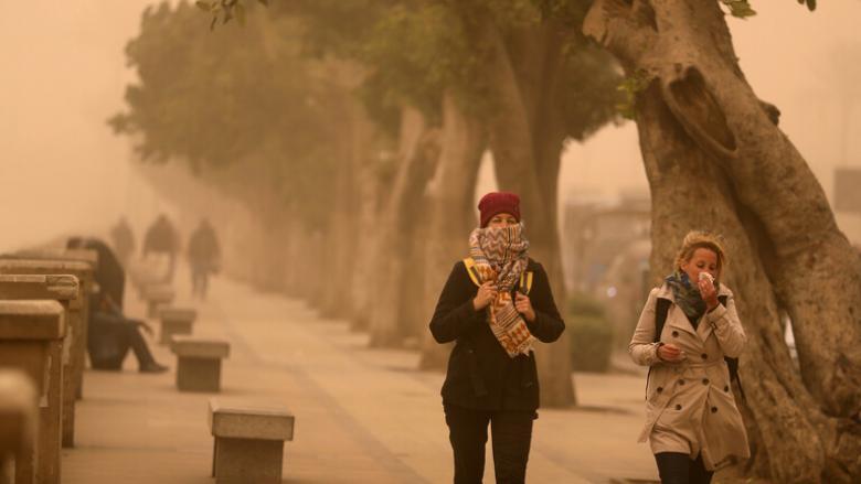 انقلاب مفاجئ في الطقس بمصر