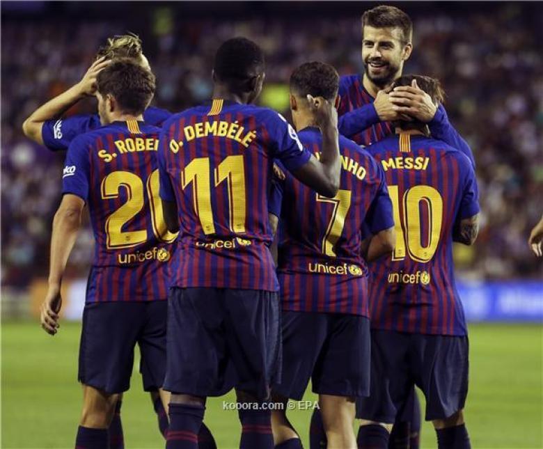 برشلونة أمام سيناريوهين لحسم الليجا قبل موقعة ليفربول