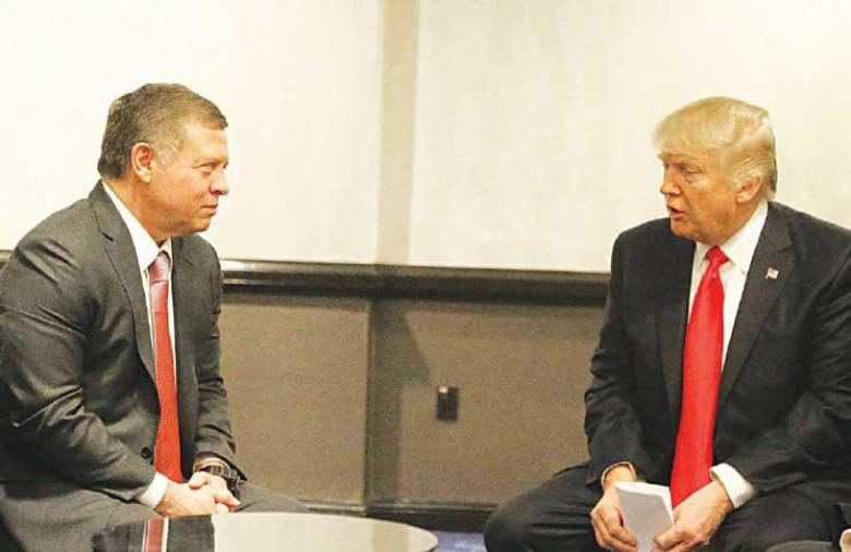 الملك الأردني يتوجه إلى واشنطن للقاء ترامب