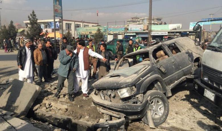 عشرات الضحايا في تفجيريْن بكابل