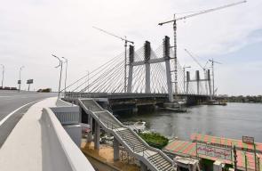 مصر تدخل موسوعة غينيس للأرقام القياسية بأعرض جسر معلق في العالم.