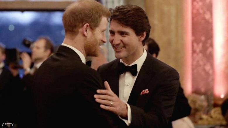 """ترودو يعلق على تكاليف """"حماية"""" هاري وميغان في كندا"""