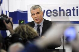 لابيد: نريد زعيمًا فلسطينيًا يمتلك رؤية السادات