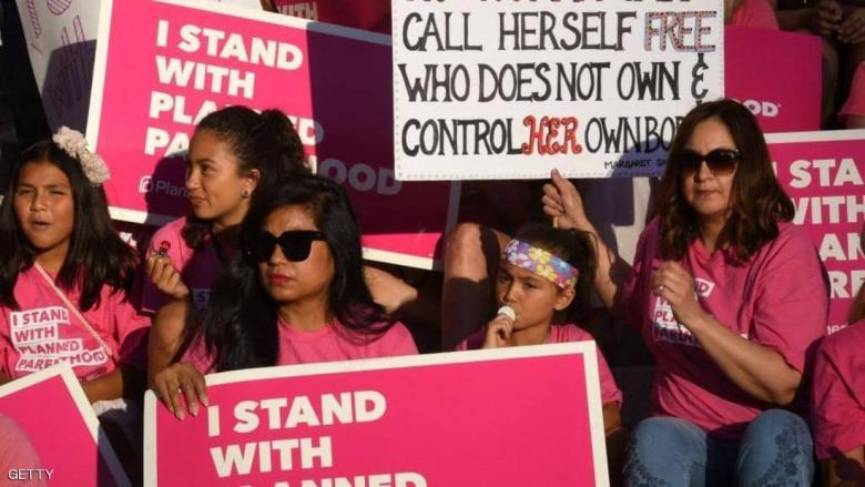 """""""السجن مدى الحياة"""" لأطباء الإجهاض في ولاية أميركية"""
