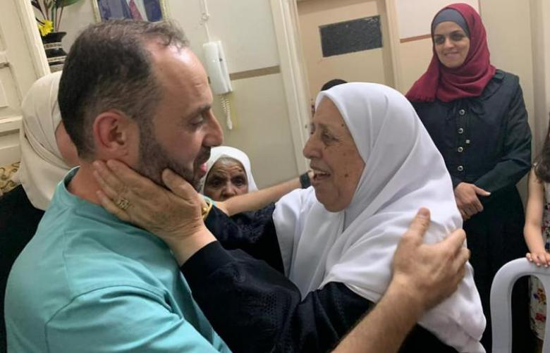 الإفراج عن الأسير صبحة بعد اعتقال دام عامين