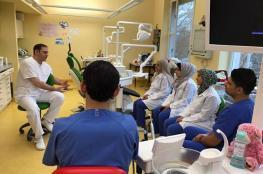"""الانتهاء من تدريب طلبة طب الأسنان بـ"""" فلسطين"""" في برلين"""