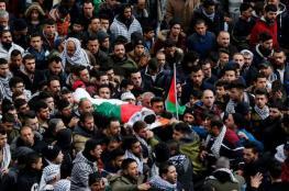 جماهير القطاع تشييع 4 شهداء ارتقوا بنيران الاحتلال