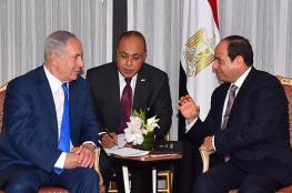 السيسي يدعم للتوصل لسلام دائم بين الفلسطينيين والاحتلال
