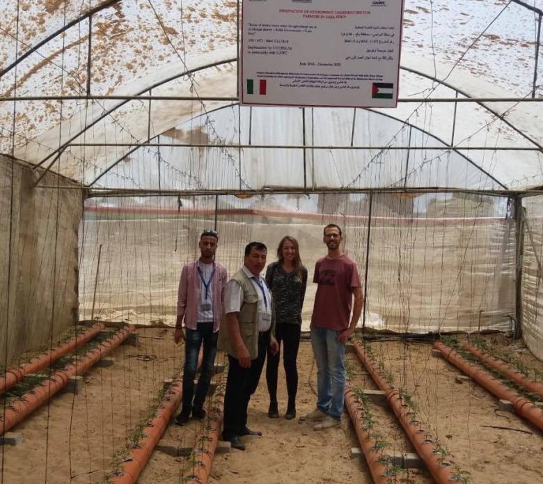 العمل الزراعي يستقبل وفدا من مؤسسة التعاون الإيطالي في جولة تفقدية