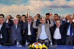 """""""حماس"""" توافق على الرؤية المصرية للمصالحة"""