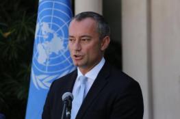 ملادينوف: 10 آلاف فرصة عمل جديدة في غزة قريبًا