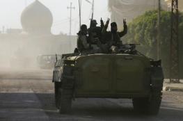 الجيش يتقدم بالموصل بغطاء جوي للتحالف