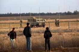 اعتقال 4 فلسطينيين بعد تسللهم من جنوب القطاع
