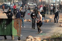الاحتلال يصيب شابا في مواجهات بالخضر