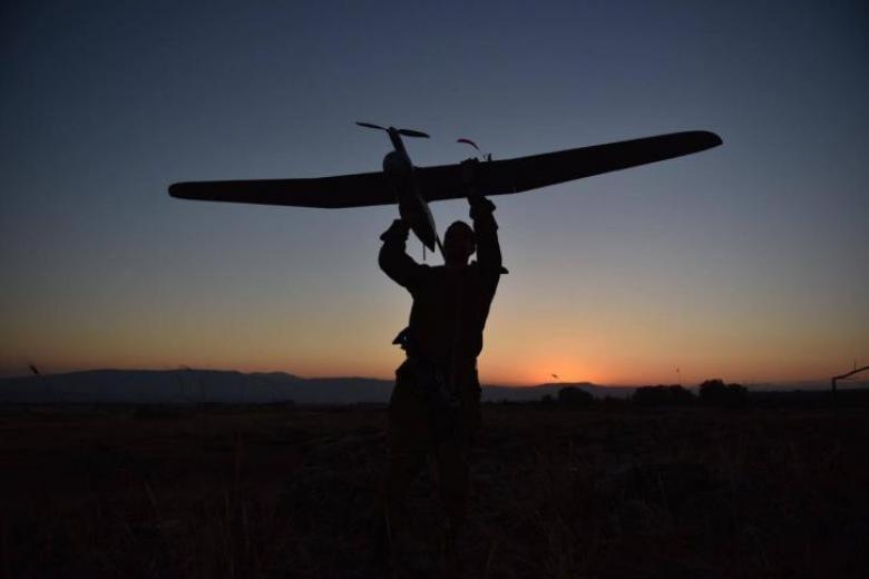 تحطم طائرة استطلاع إسرائيلية على حدود القطاع