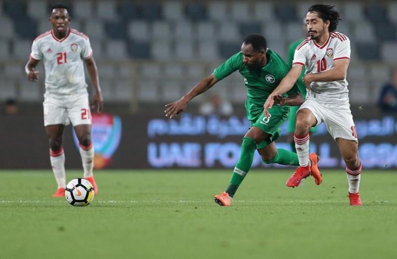 الإمارات تهزم السعودية وديا بهدفين
