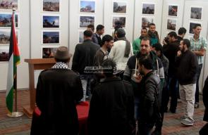معرض يوثق مواجهات الانتفاضة على حدود غزة