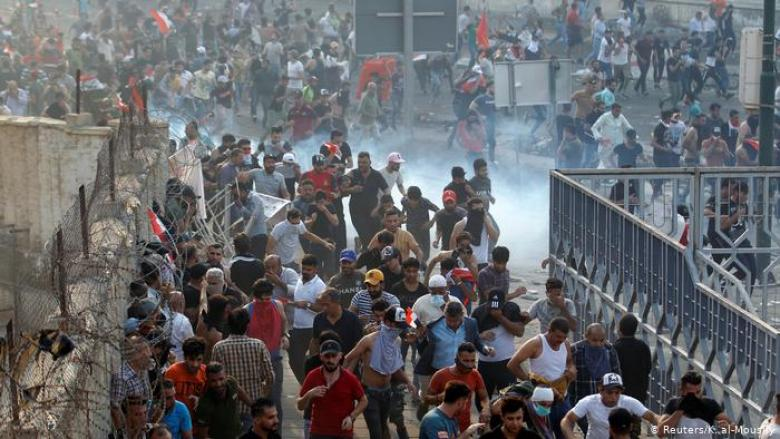 عودة قوية للمظاهرات في بغداد والناصرية والبصرة