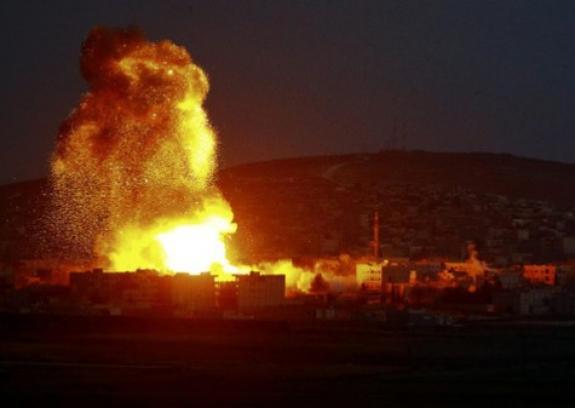 استهداف موقع للمقاومة جنوب قطاع غزة