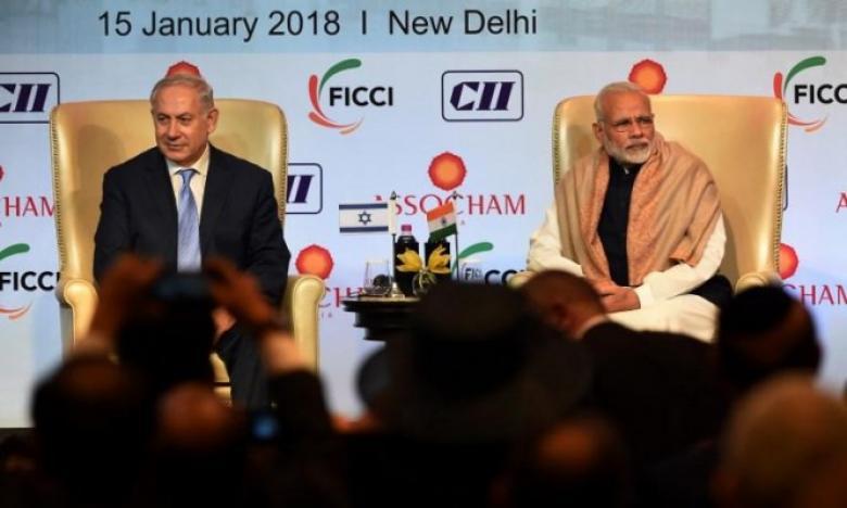 نتنياهو في الهند: صفقات أمنية وتعاون اقتصادي واستخباري وتكنولوجي