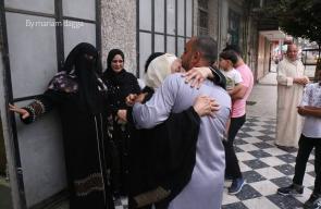 وداع الفوج الأول من حجاج قطاع غزة