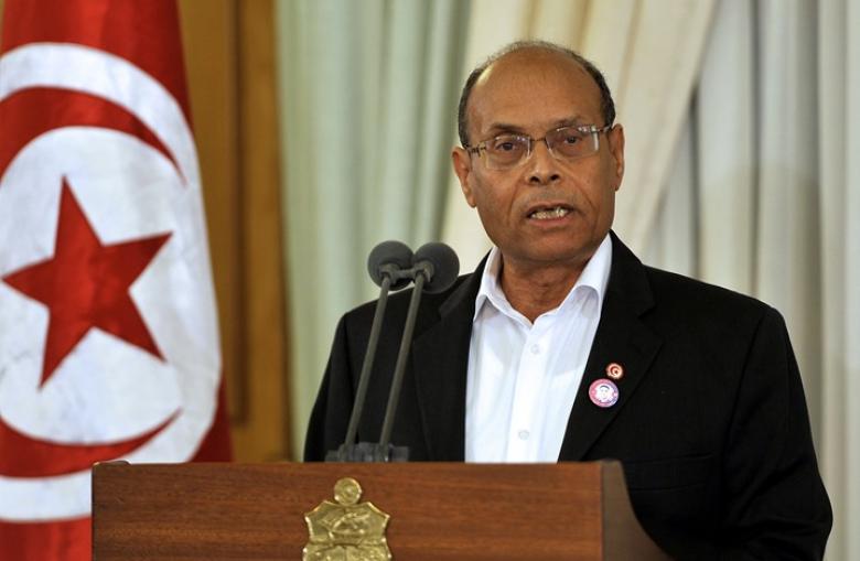 """محامي مصري يطلب منع دخول الرئيس التونسي السابق """"المرزوقي"""""""