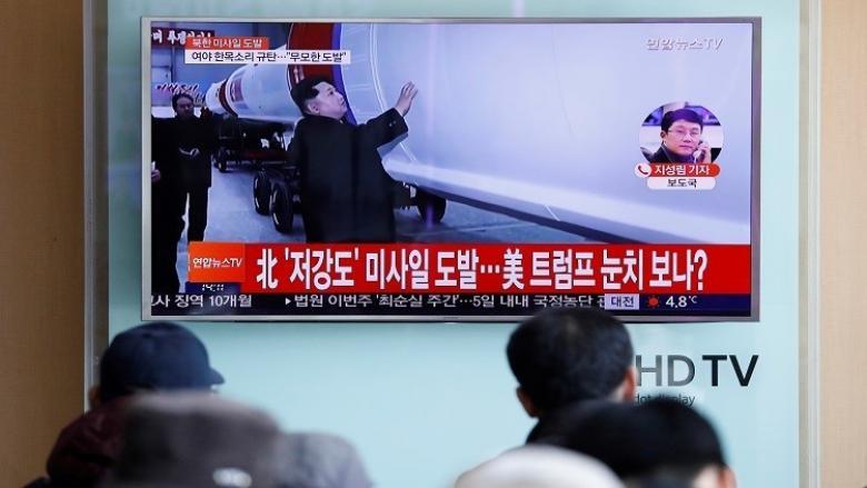 بيونغ يانغ تجس نبض ترامب بصاروخ بالستي