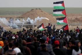 """جماهير قطاع غزة تتجهز لـ """"جمعة المسيرة مستمرة"""""""