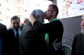 قيادة حماس تزور المحرر