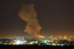 إصابات في غارات بأنحاء متفرقة في قطاع غزة