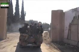 المعارضة تتقدم غربي حلب وتتوعد النظام بمفاجآت