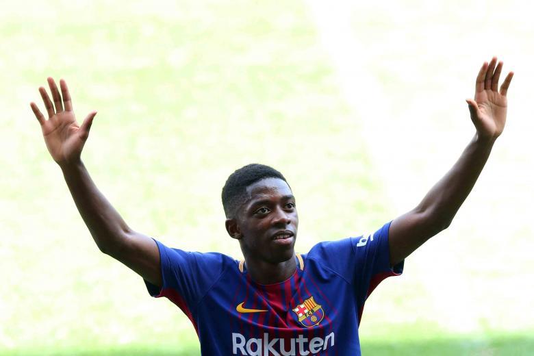 إصابة عثمان ديمبلي تتجدد مع برشلونة