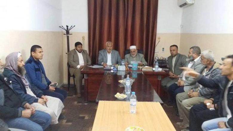 """إنهاء  قضية المتضررين من سكان عمارة أبو طه """"الحردانين"""" برفح"""