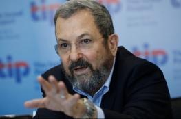 باراك: على إسرائيل التدخل في سوريا