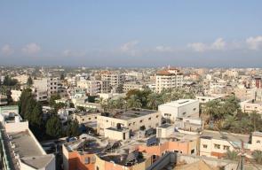 مدينة دير البلح وسط قطاع غزة