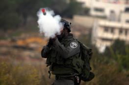 القدس: الاحتلال يطلق قنابل غازية على طلبة المدارس في الرام