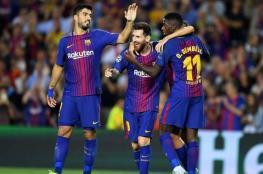 برشلونة يزف خبرا سارا لجمهوره قبل مواجهة سلتا فيغو